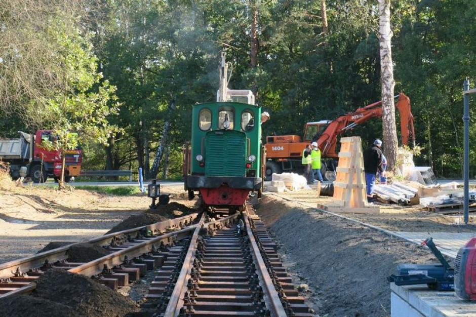 Kończą się prace przy przedłużeniu kolejki wąskotorowej w Rybniku