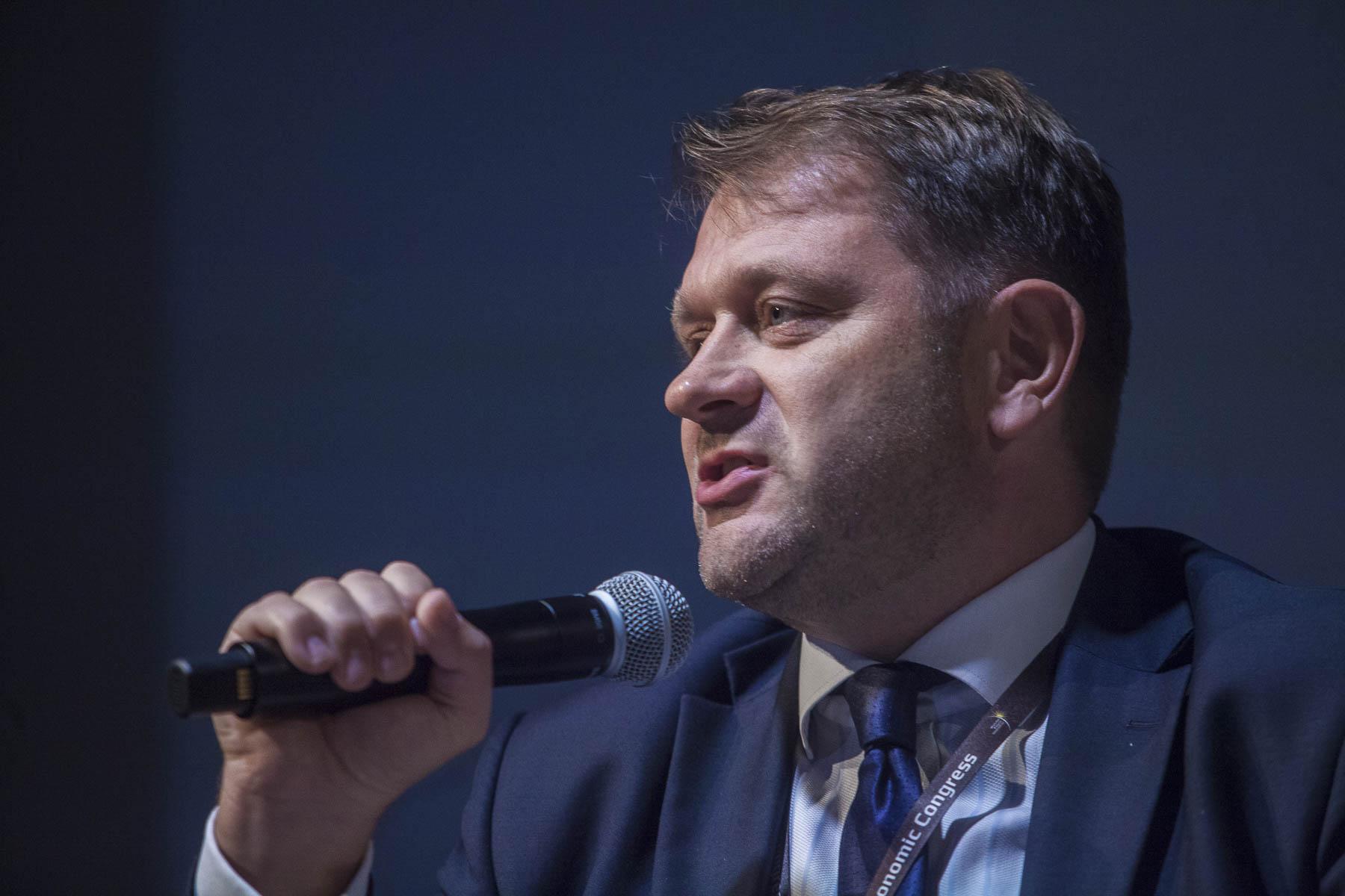 Dariusz Bogdan, prezes Parku Naukowo-Technologicznego Polska-Wschód w Suwałkach. Fot. PTWP