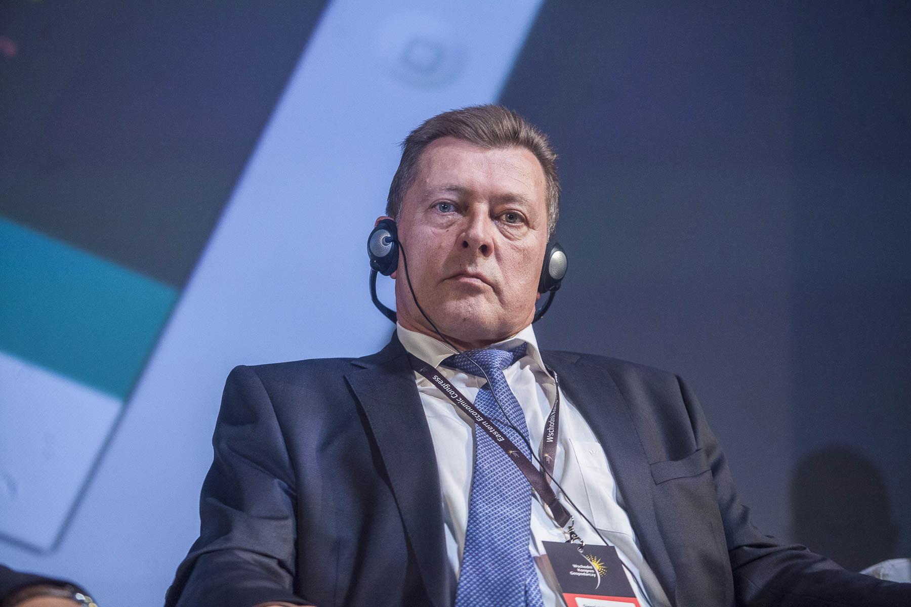 Siergiej Tkaczenko, naczelnik administracji Wolnej Strefy Ekonomicznej GrodnoInvest. Fot. PTWP