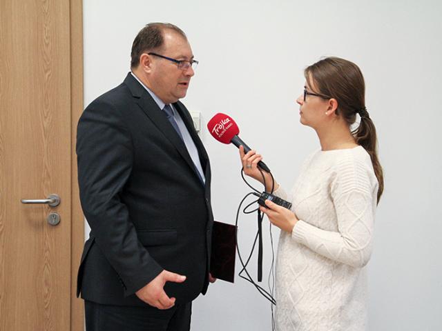 Takie rozwiązanie prowadzi do powstawania zaległości, które trzeba rekompensować ekwiwalentem pieniężnym po zakończeniu kadencji – podkreślił Wiesław Łyszczek (fot. PIP)