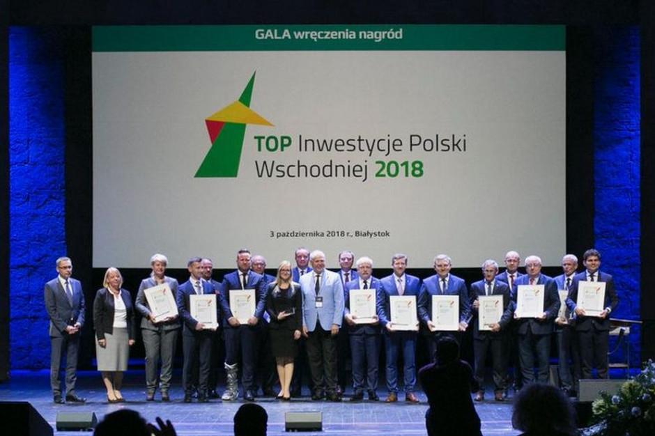 Laureaci konkursu Top Inwestycje Polski Wschodniej 2018