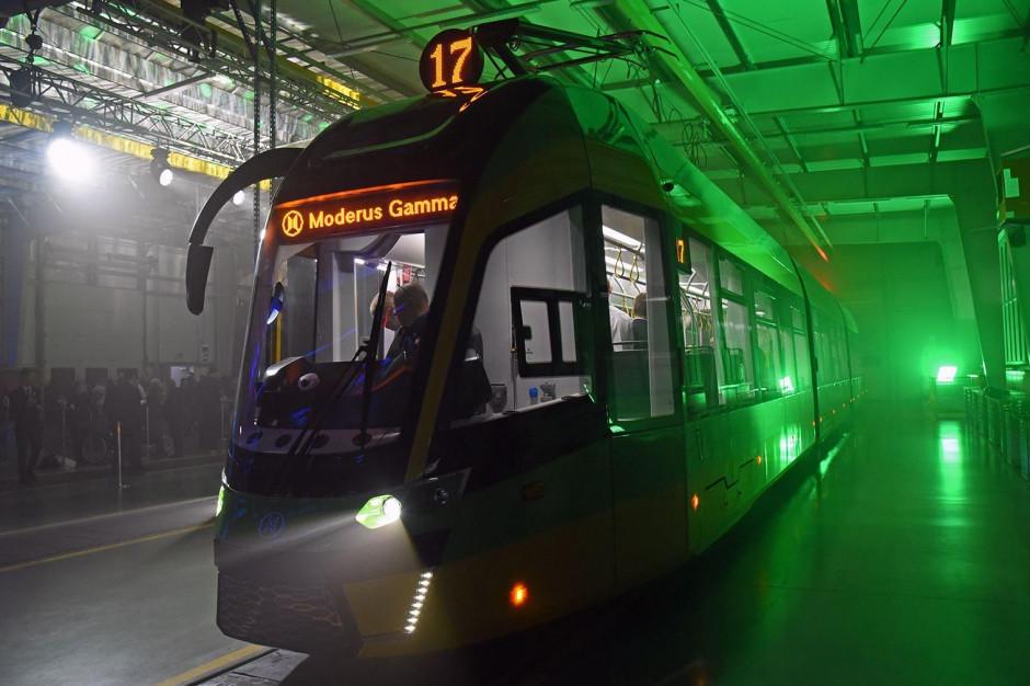 50 nowoczesnych tramwajów Moderus Gamma trafi do poznańskiego MPK