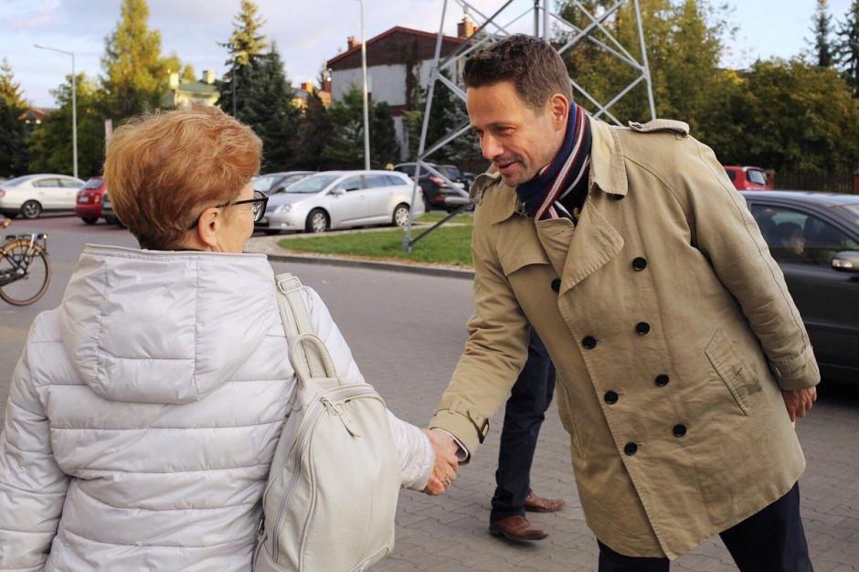 Propozycje Trzaskowskiego dla Wesołej: Nieuciążliwa obwodnica, lepsza komunikacja, walka ze smogiem
