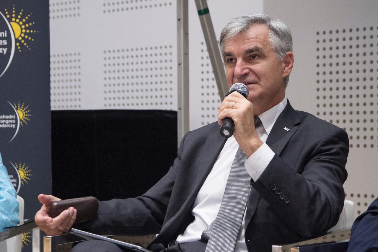 Bogdan Dyjuk, członek zarządu województwa podlaskiego. Fot. PTWP