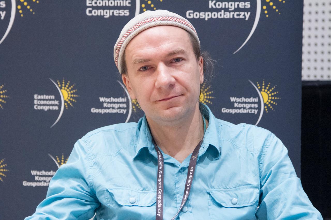 Piotr Domagała, współtwórca festiwalu Podlasie SlowFest. Fot. PTWP