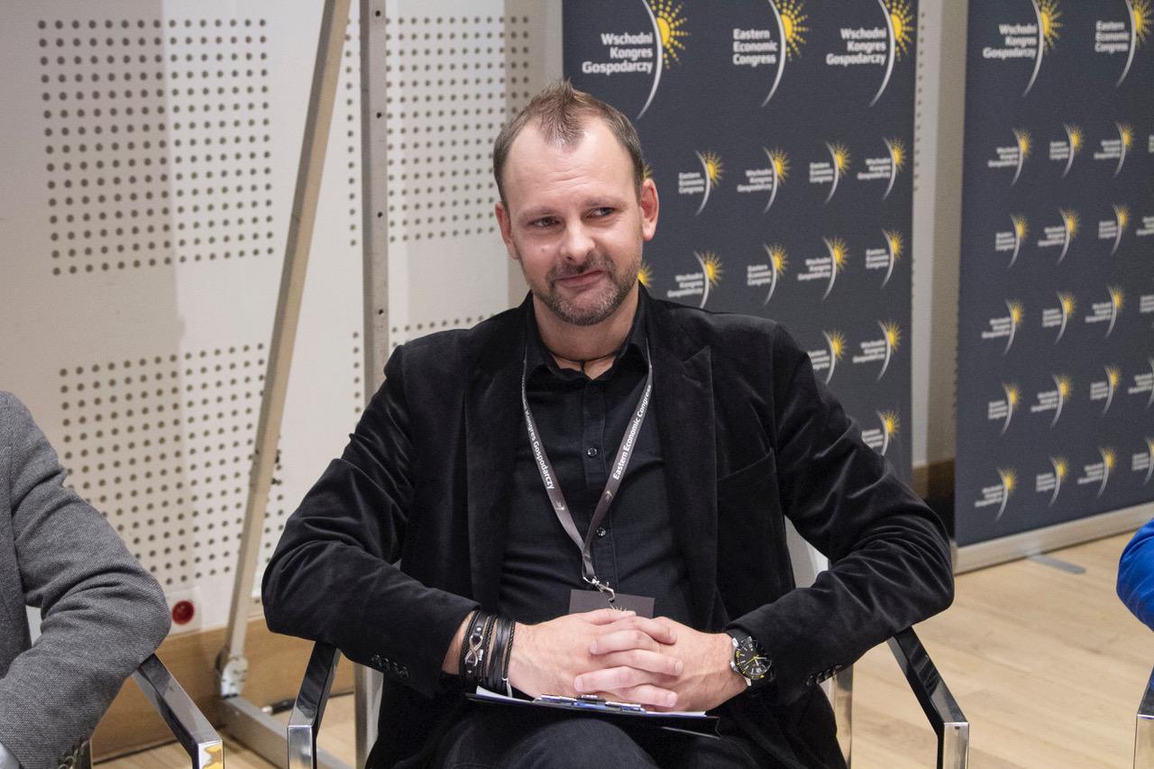 Damian Tanajewski, dyrektor Opery i Filharmonii Podlaskiej, Europejskiego Centrum Sztuki w Białymstoku. Fot. PTWP