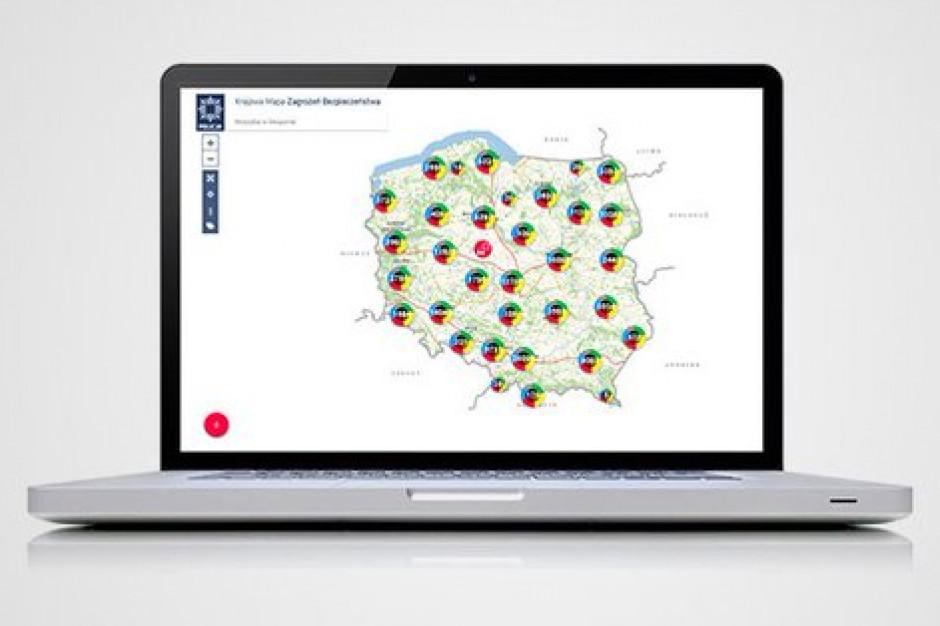 MSWiA: prawie milion zgłoszeń na Krajowej Mapie Zagrożeń Bezpieczeństwa