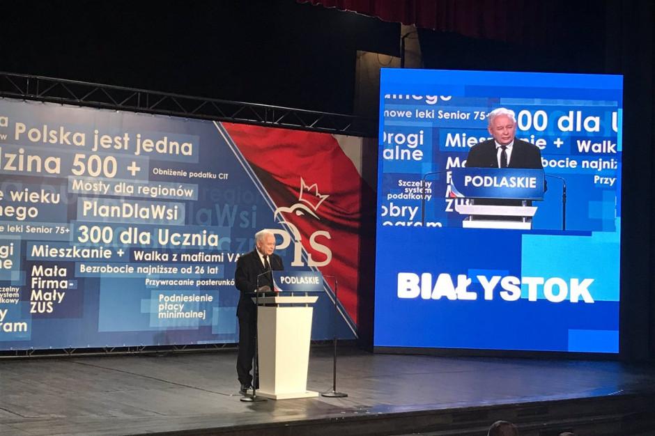 Jarosław Kaczyński: PiS jest alternatywą dla obecnych władz w województwie podlaskim