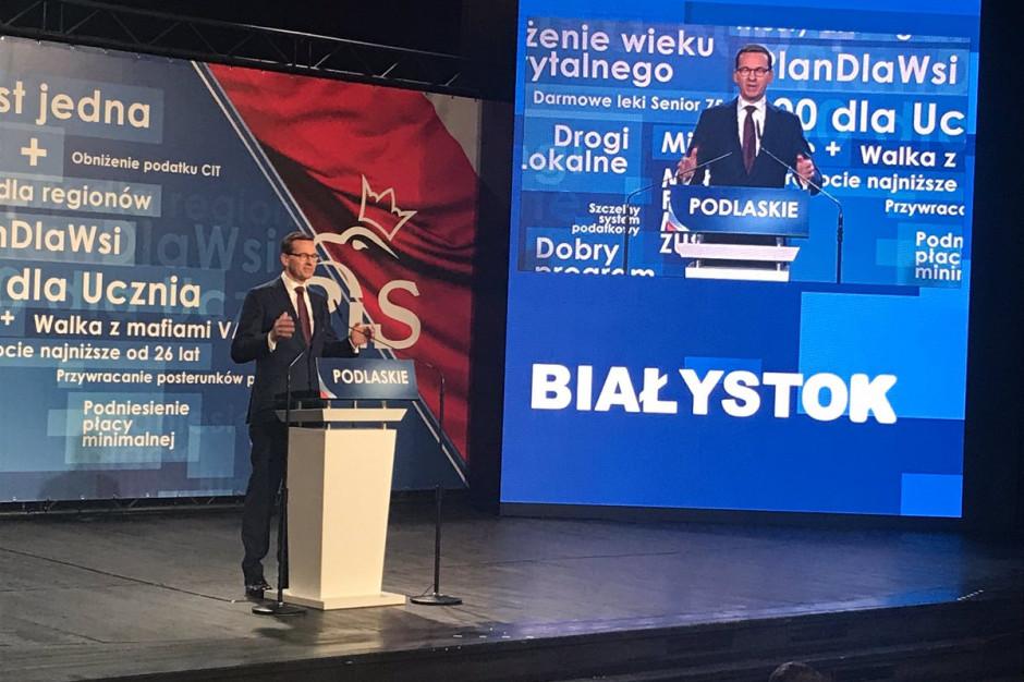 Mateusz Morawiecki: Dobra zmiana musi nastąpić również w samorządach