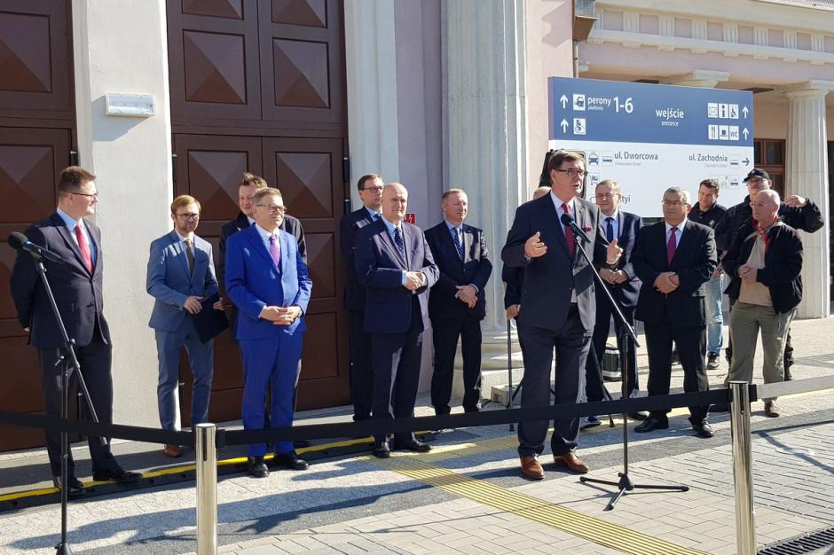 Podróżni znów mogą korzystać z dworca Poznań Zachodni