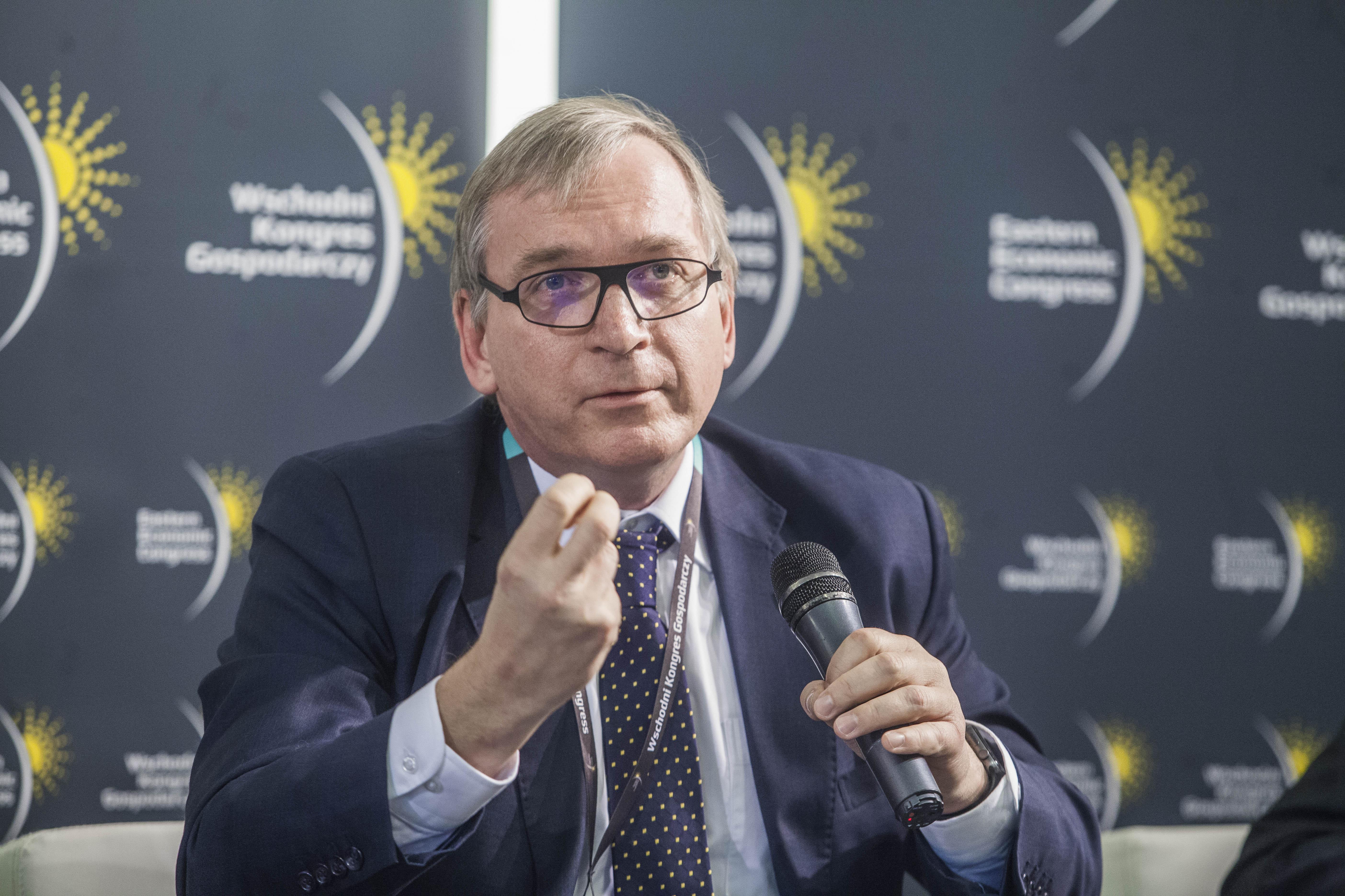 Wolfgang Munch, zastępca dyrektora wydziału ds. Polski w Dyrekcji Generalnej ds. Polityki Regionalnej i Miejskiej Komisji Europejskiej. Fot. PTWP