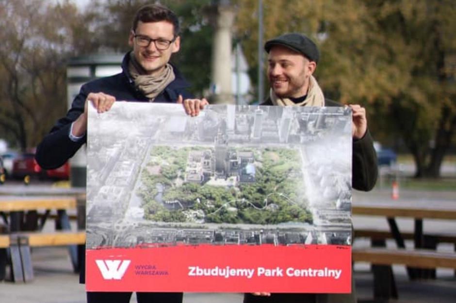 Jan Śpiewak apeluje do radnych ws. budowy Parku Centralnego
