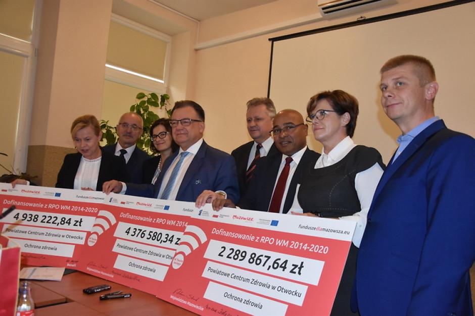 11,6 mln złotych dla centrum zdrowia w Otwocku