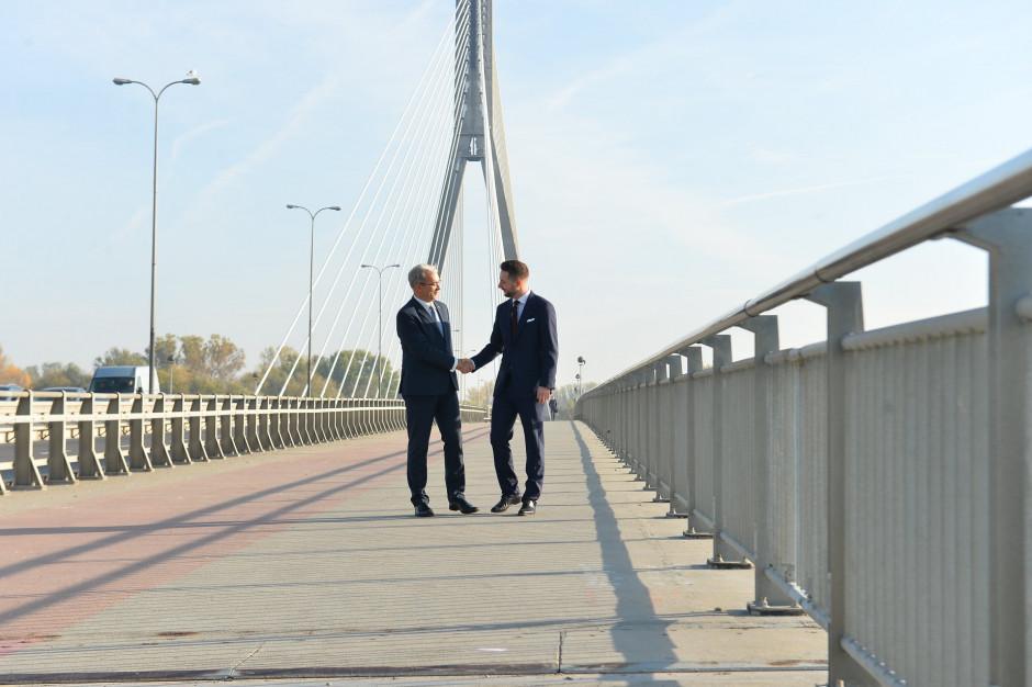 Patryk Jaki: Warszawa potrzebuje co najmniej trzech nowych mostów