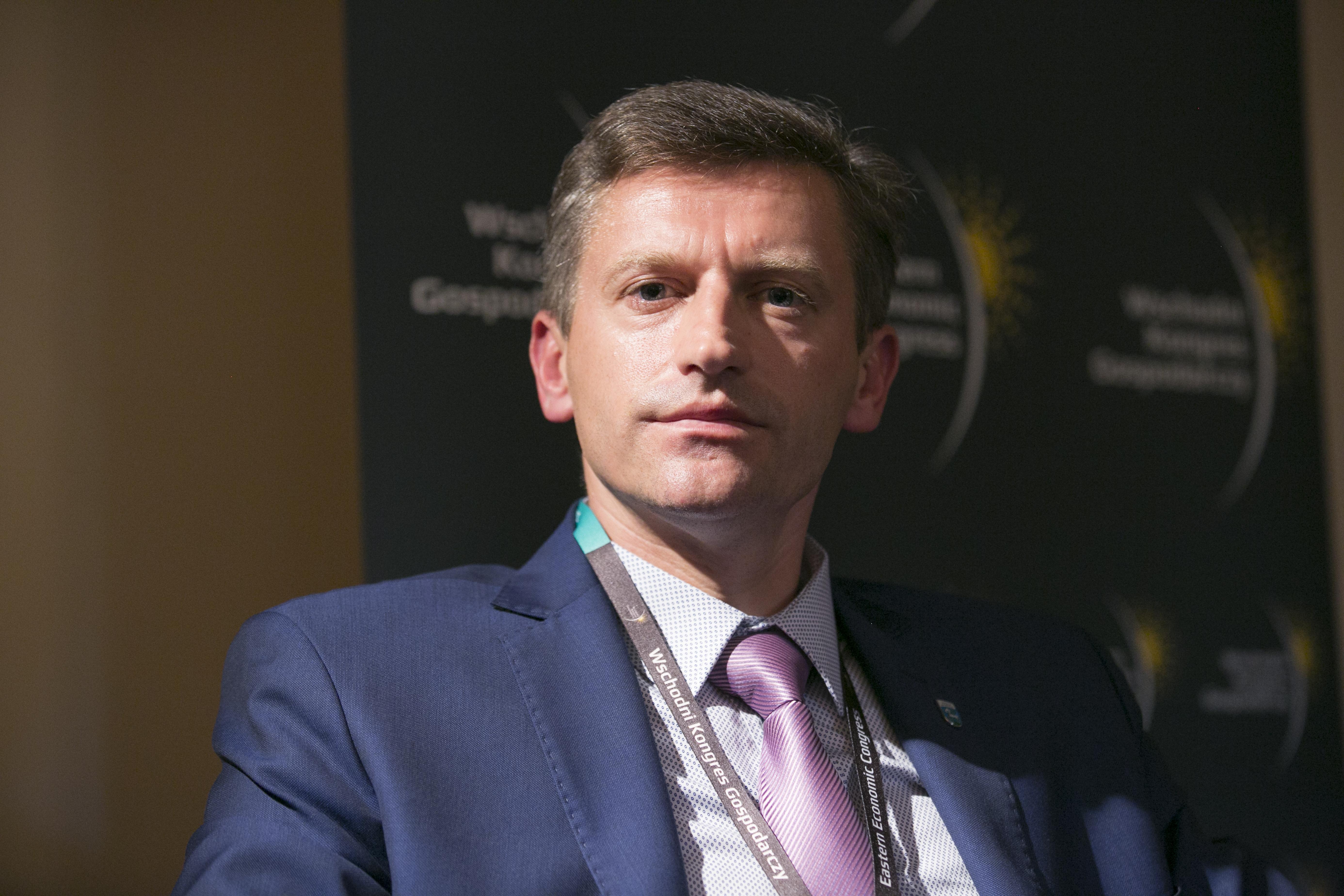 Jacek Wiśniowski, burmistrz Lidzbarka Warmińskiego. Fot. PTWP