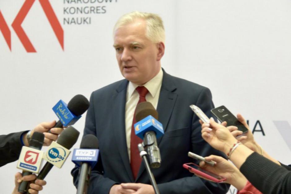 Jarosław Gowin: Grudziądz jest jedną z białych plam na mapie Polski