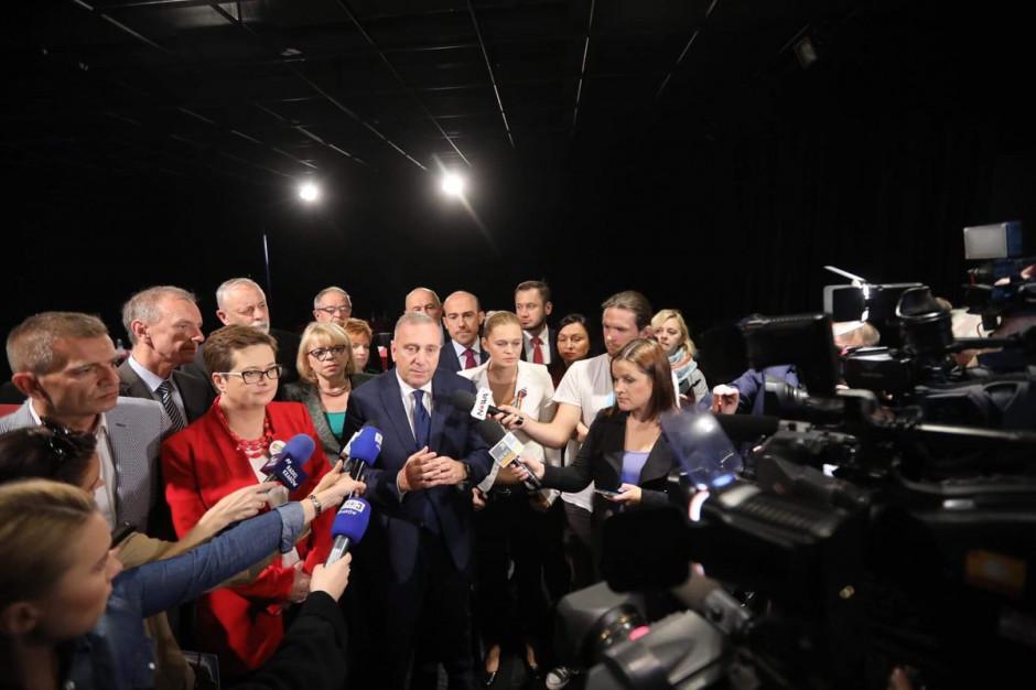 Grzegorz Schetyna: KO może zdobyć większość w ponad połowie sejmików