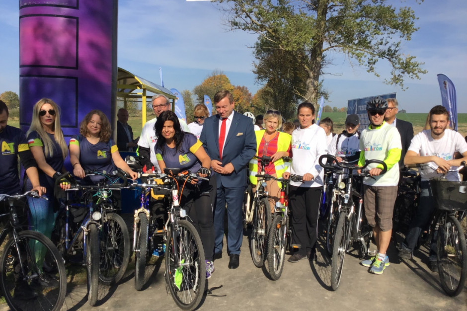 Nowa ścieżka rowerowa w gminie Trzebiatów
