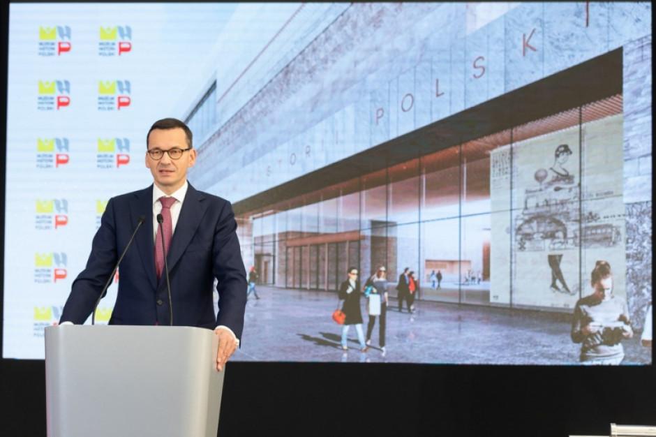 Wmurowano kamień węgielny pod budowę Muzeum Historii Polski