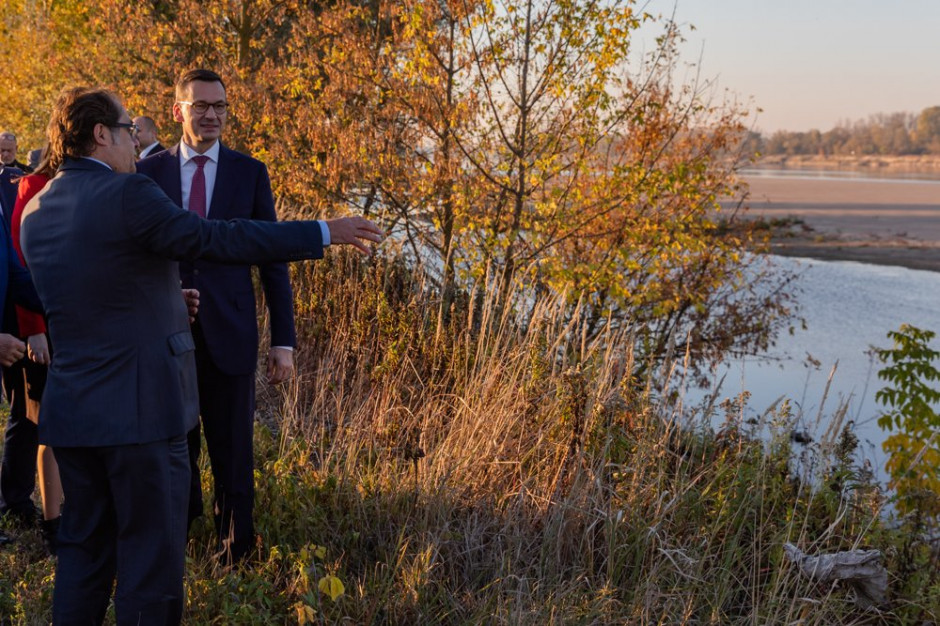 Mateusz Morawiecki: Stopień wodny w Siarzewie to większe bezpieczeństwo mieszkańców