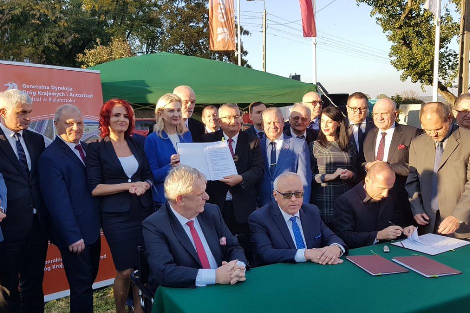 Podpisano umowę na budowę zasadniczej części obwodnicy Łomży