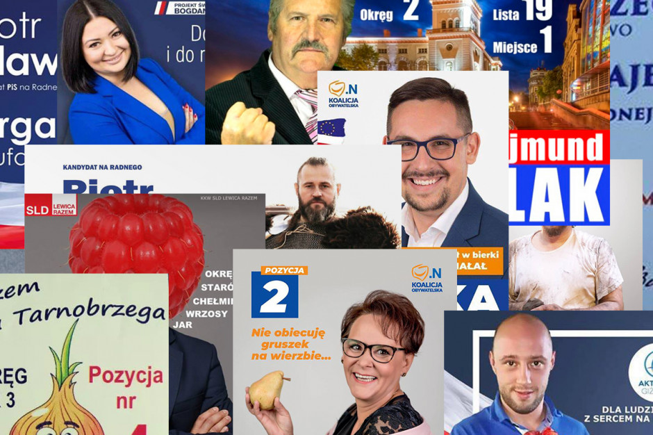 Śmieszne hasła, nietrafione plakaty i językowe wpadki, czyli kampania wyborcza na wesoło