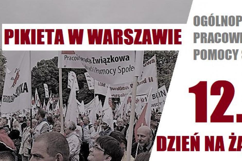 Protest pracowników socjalnych. Mają dość niskich płac