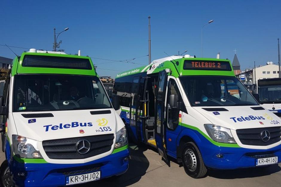 Kraków: nowe autobusy na linii tele-busa
