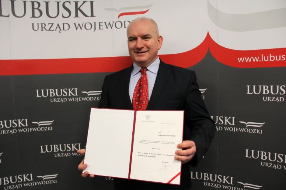 Wicewojewoda lubuski Robert Paluch odwołany ze stanowiska