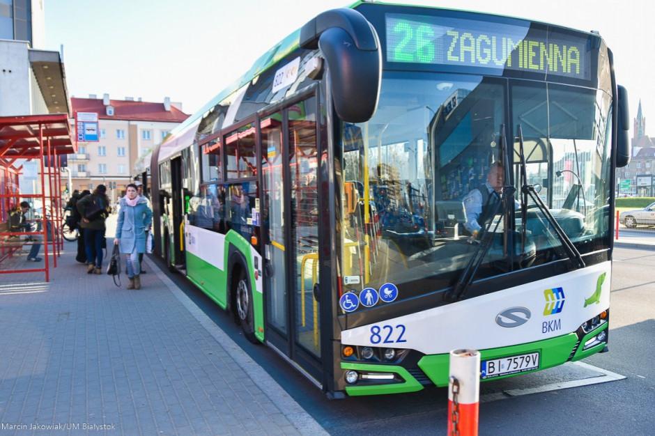 W związku z pandemią i mniejszym ruchem zmienia się rozkład jazdy autobusów w Białystoku