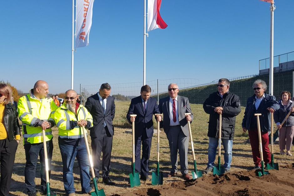 Rusza budowa tzw. drugiej jezdni obwodnicy Szczuczyna w ramach Via Baltica