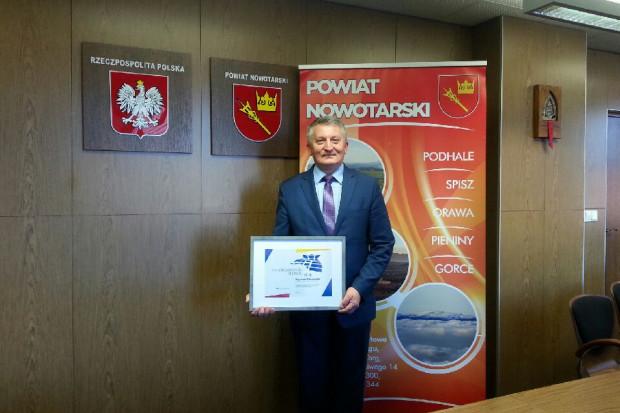 Bogusław Waksmundzki, Samorządowiec Roku 2018 w kategorii samorządowiec powiatowy (fot.PTWP)