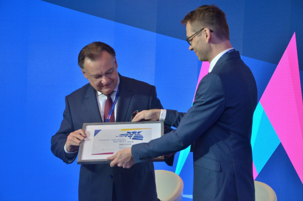 Adam Struzik otrzymał od nas tytuł Najlepszego Marszałka 2018 roku (fot. PTWP)