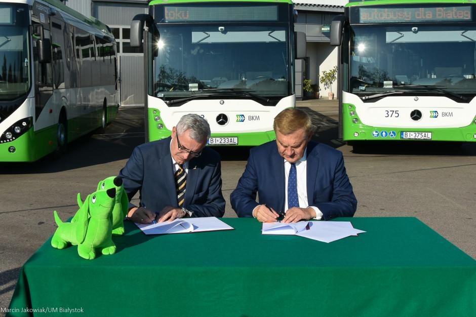 Białystok podpisał umowę na zakup 22 autobusów