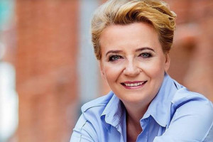 """70 proc. mieszkańców Łodzi głosowało na Hannę Zdanowską. """"To największa rekomendacja"""""""