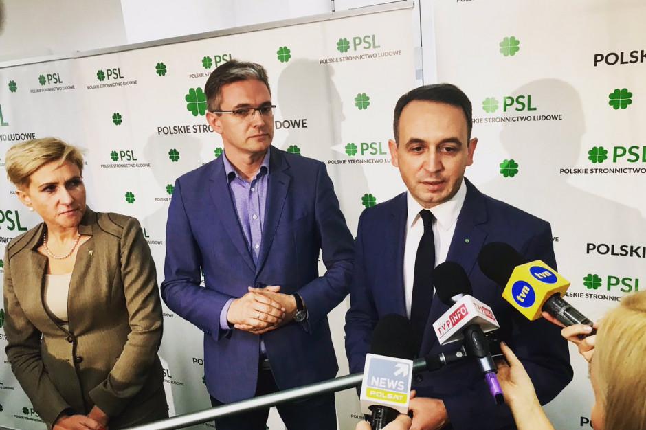 PSL jeszcze raz ostro o PiS: Współpraca z nimi szkodzi