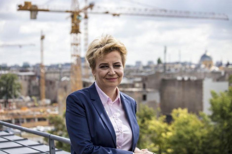 Łódź: Hanna Zdanowska ma plan na następną kadencję