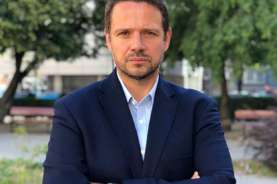 Trzaskowski: Nie widzę potrzeby rewolucji. Wystarczą poważne zmiany w ratuszu