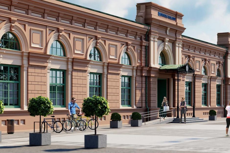 Białystok będzie mieć gruntownie odnowiony dworzec kolejowy