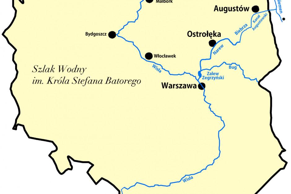 Ostrołęka: Wody Polskie zapowiadają reaktywację szlaku Batorego