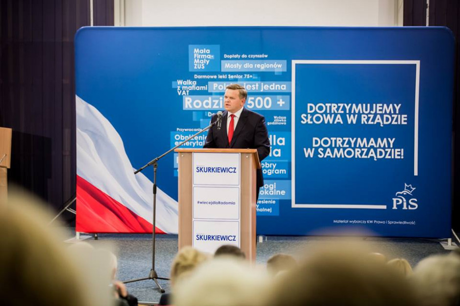 Wojciech Skurkiewicz z poparciem stowarzyszeń katolickich i organizacji działających na rzecz rodzin