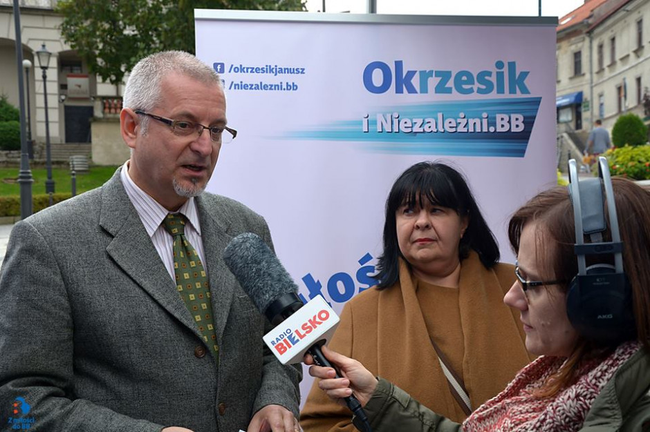 Niezależni.BB nie poprą żadnego z kandydatów na prezydenta Bielska-Białej