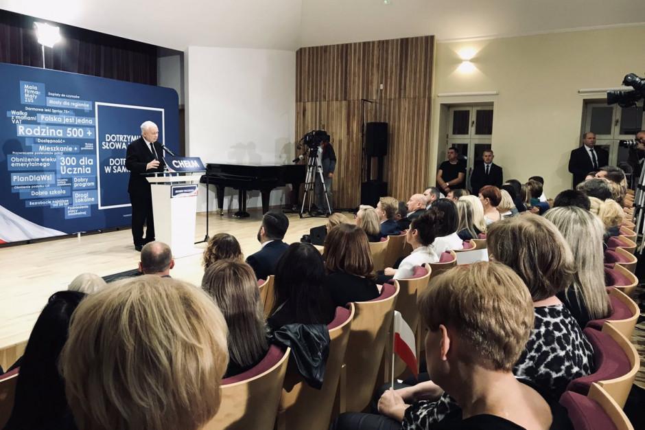 Jarosław Kaczyński: Jeżeli władze rządowa i samorządowa ze sobą współpracują, powstaje synergia