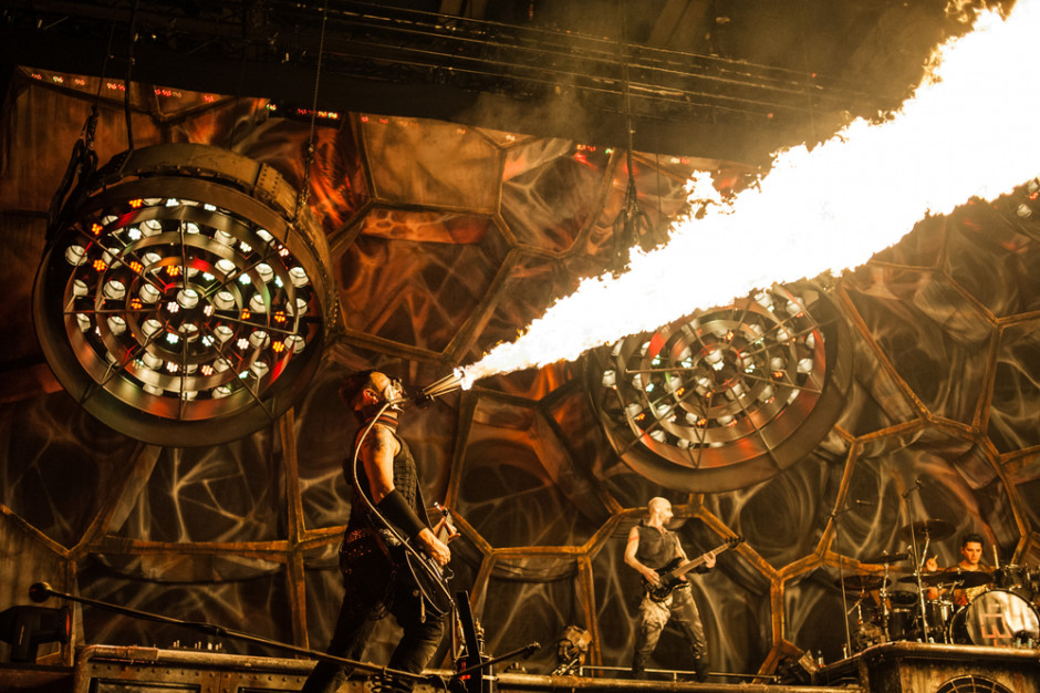 Rammstein wystąpi na Stadionie Śląskim