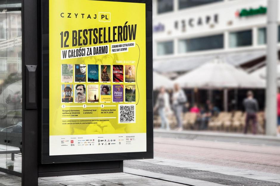 Poznań rozdaje dostęp do ebooków. Na liście m.in. Tokarczuk, Mróz, Chmielarz
