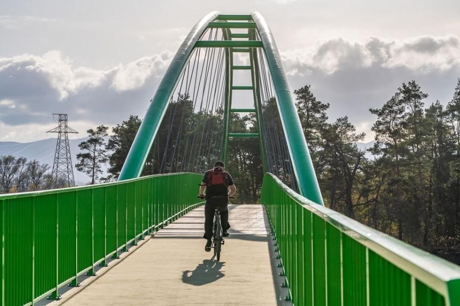 Stary i Nowy Sącz połączyła kładka dla rowerzystów