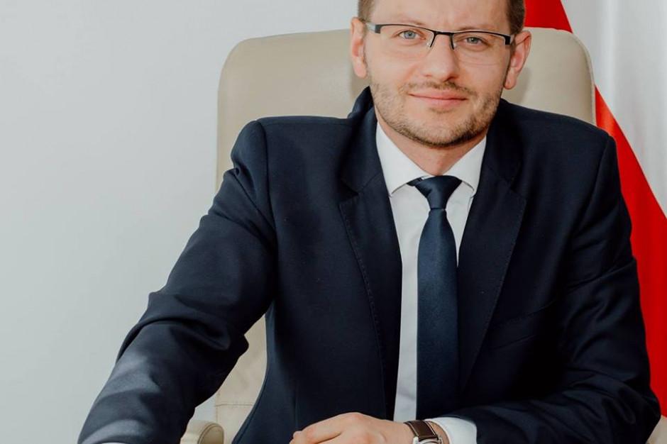 Starosta Bartosz Kaliński z PiS burmistrzem Wadowic