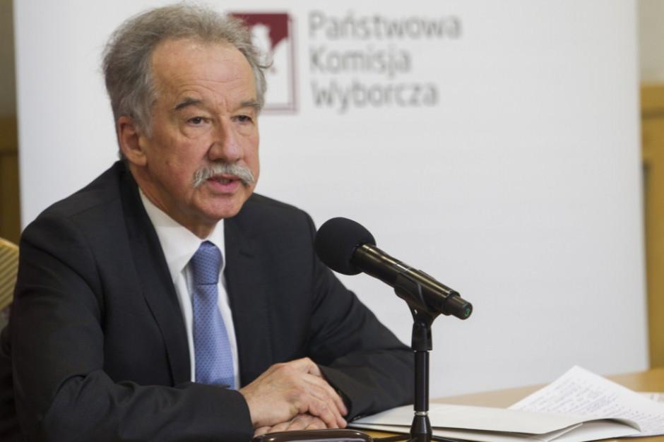 Wojciech Hermeliński, PKW: potrzebne są zmiany na poziomie obwodowych komisji