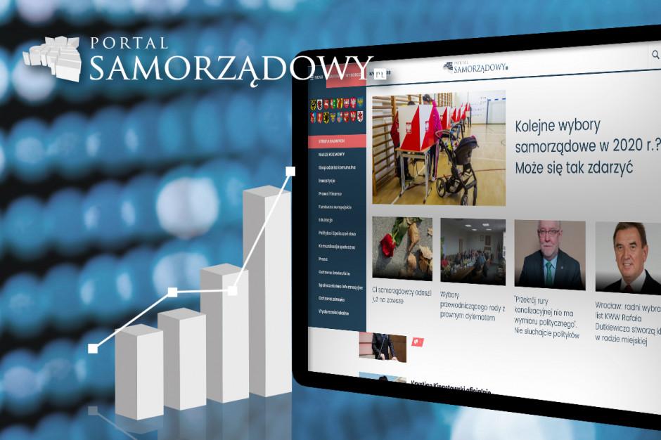 Rekord PortalSamorzadowy.pl: ponad 50 mln odsłon i 6,5 mln użytkowników