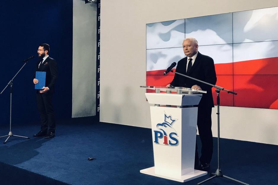 Jarosław Kaczyński podsumował wybory: Zdecydowane zwycięstwo PiS
